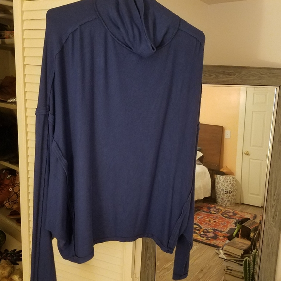Free People Tops - Royal Blue Cozy Free People Shirt